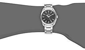 Omega Men's 231.10.39.60.06.001 Aqua Terra Quartz 38.5mm Analog Display Silver Watch