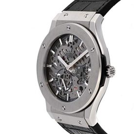 Hublot Classic Fusion Mechanical (Hand-Winding) Skeletonized Dial Mens Watch 515.NX.0170.LR (Certified Pre-Owned)