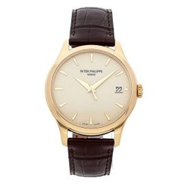 Patek Philippe Calatrava Mechanical (Automatic) Ivory Dial Mens Watch 5227J-001 (Certified Pre-Owned)