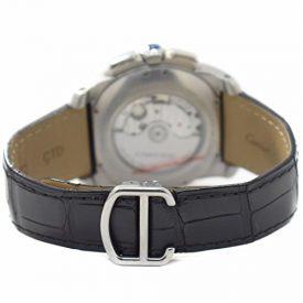Cartier Calibre de Cartier Swiss-Automatic Male Watch W7100060 (Certified Pre-Owned)