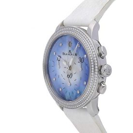 Blancpain Chronographe Flyback Mechanical (Automatic) Blue Dial Womens Watch 3185F-4554-64B (Certified Pre-Owned)
