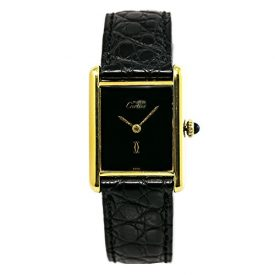 Cartier Must 21 Mechanical-Hand-Wind Female Watch Unknown (Certified Pre-Owned)