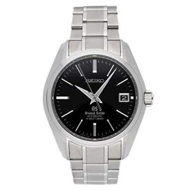 Grand Seiko Grand Seiko Hi-Beat Mechanical (Automatic) Black Dial Mens Watch SBGH005 (Certified Pre-Owned)