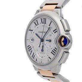 Cartier Ballon Bleu de Cartier Mechanical (Automatic) Silver Dial Mens Watch W6920075 (Certified Pre-Owned)