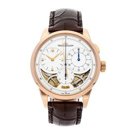 Jaeger LeCoultre Duometre Q6012521 18K Rose Gold Manual Wind Men's Watch (Certified Pre-owned)