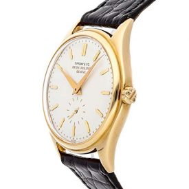 Patek Philippe Calatrava Mechanical (Automatic) Ivory Dial Mens Watch 2526 (Certified Pre-Owned)