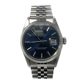 Rolex Datejust Swiss-Automatic Male Watch 16030 (Certified Pre-Owned)