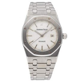 Audemars Piguet Royal Oak Mechanical (Automatic) Silver Dial Womens Watch 15000ST.OO.0789ST.02 (Certified Pre-Owned)