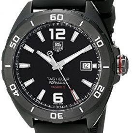 Tag Heuer Formula 1 Calibre 5 Black Titanium Automatic Watch 41mm WAZ2115.FT8023