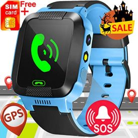 Kids Smart Watch with GPS Tracker for Girls