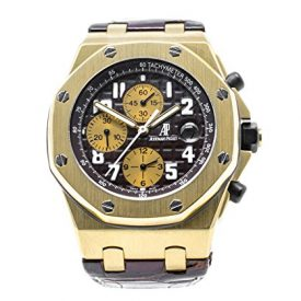 Audemars Piguet 26007BA2.OO.D088CR.01 gold chronograph Arnold Schwarzenegger Royal Oak Offshore limited edition(400) automatic-self-wind men's watch (Certified Pre-owned)