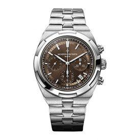VACHERON CONSTANTIN Overseas Brown Dial Men's Chronograph Watch