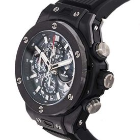 Hublot Big Bang Mechanical (Automatic) Skeletonized Dial Mens Watch 406.CI.0170.RX (Certified Pre-Owned)