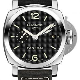 Panerai Luminor 1950 3 Days GMT Acciaio Men's Automatic Watch – PAM00535