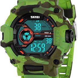 Boys Camouflage Digital Sports Watch