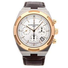 Vacheron Constantin Overseas Chronograph Mechanical (Automatic) Silver Dial Mens Watch 5500V/000M-B074 (Certified Pre-Owned)