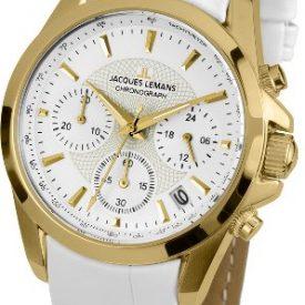 Jacques Lemans 1-1752D Leather Strap Women's Watch