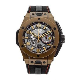 Hublot Ferrari Big Bang Mechanical (Automatic) Silver Dial Mens Watch 401.MX.0123.VR (Certified Pre-Owned)