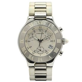 Cartier Chronoscaph 21 Stainless Steel MX1020010-Certified Pre-Owned
