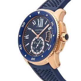 Cartier Calibre de Cartier Mechanical (Automatic) Blue Dial Mens Watch WGCA0010 (Certified Pre-Owned)