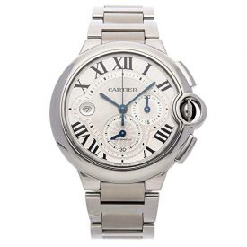 Cartier Ballon Bleu de Cartier Mechanical (Automatic) Silver Dial Mens Watch W6920002 (Certified Pre-Owned)