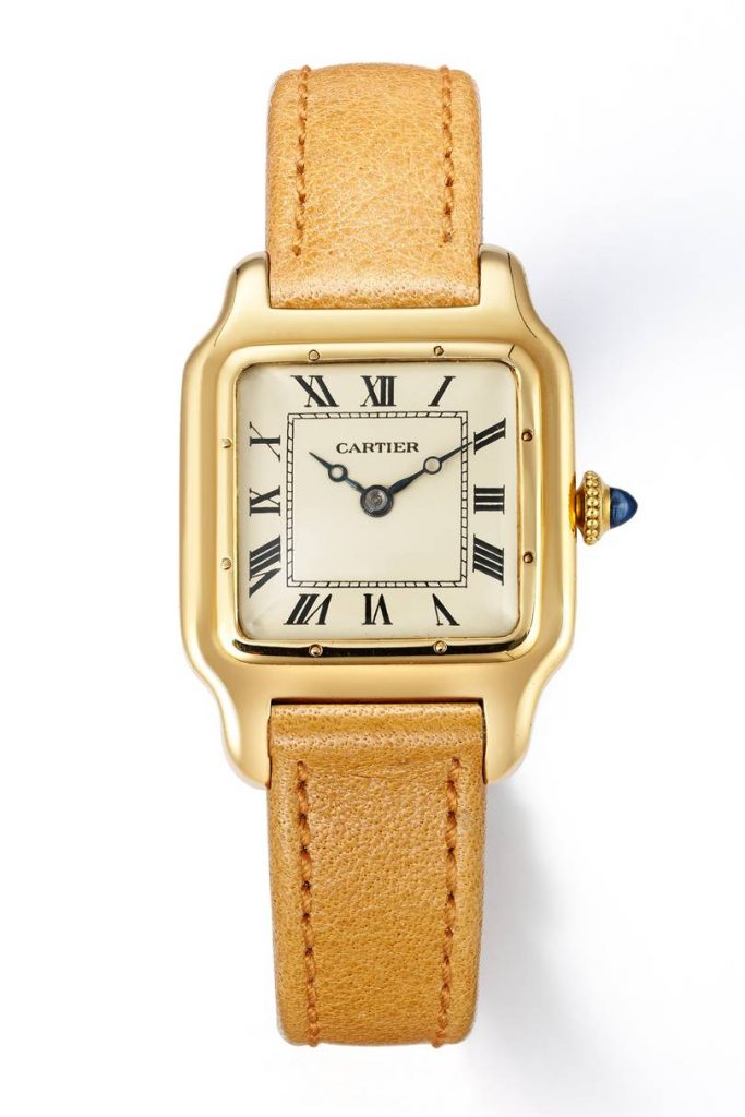 An early example of the Cartier Santos.